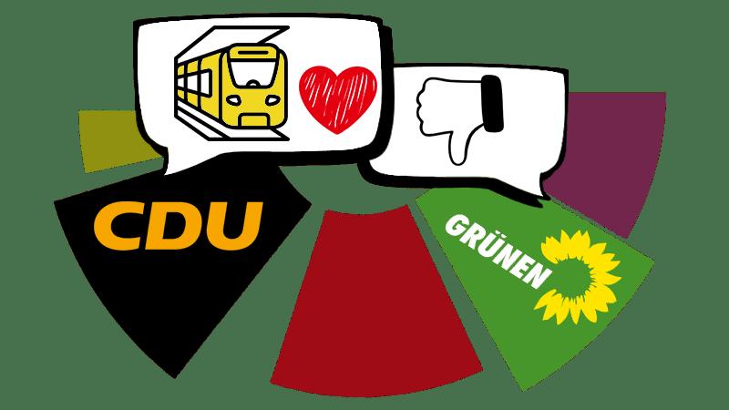 Grüne-U-Bahn-Blockade